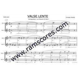 VALSE LENTE ( Level 1)
