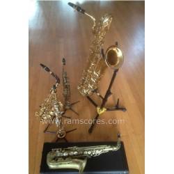 DES PAS SUR LA NEIGE (saxes quintet)