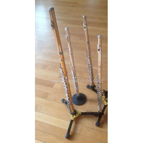 CHICKEN REEL (flute quartet)