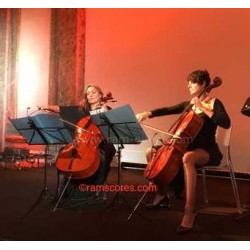 String leaves duet(celli)