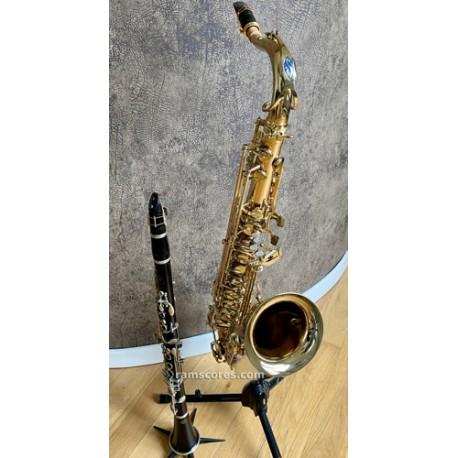 Blue blues duet (TS- clarinet or bass clarinet )