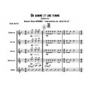 UN HOMBRE Y UNA MUJER (cuarteto de saxofón)