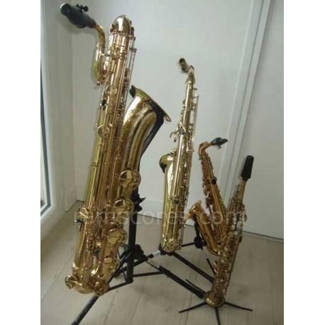 OH WHEN THE SAINTS GO MARCHING IN ( cuarteto de saxofones)