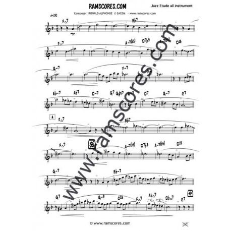 LE CHA CHA DE SACHA (Eb sax alto)