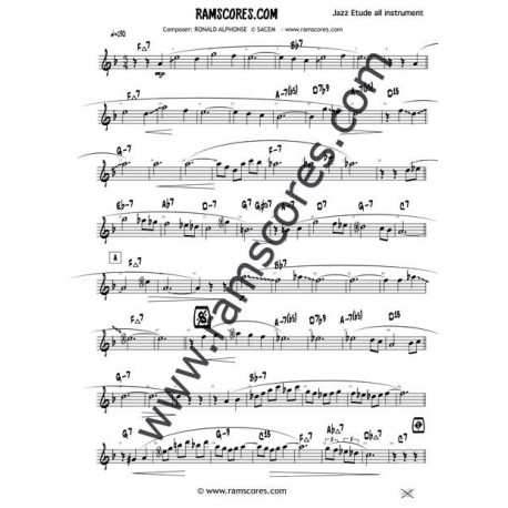 Bb JAZZ SOLOS 1 (partituras)