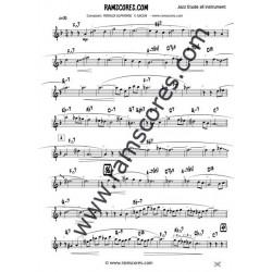 SPRING TIME Solo (Bb registre supérieur)